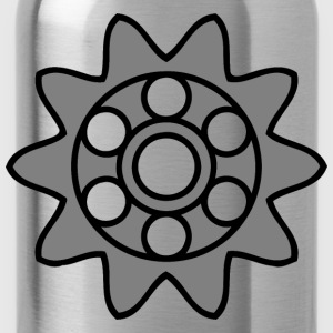10tooth gear with circular holes - Water Bottle