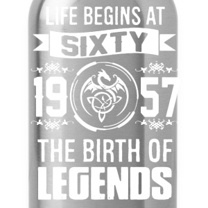 THE BIRTH OF LEGENDS 60 TEE SHIRT - Water Bottle