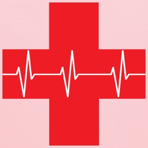 Red Cross First Aid Icon - Kids' Hoodie