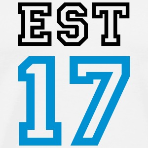 ESTONIA 17 - Men's Premium T-Shirt