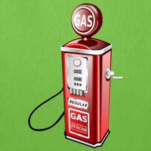 Old Fashioned Gas Pump - Tote Bag