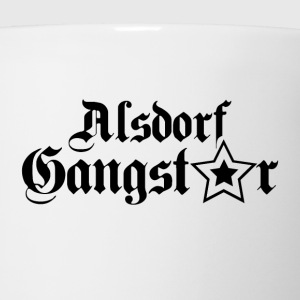 alsdorf gangster black T-Shirts - Coffee/Tea Mug