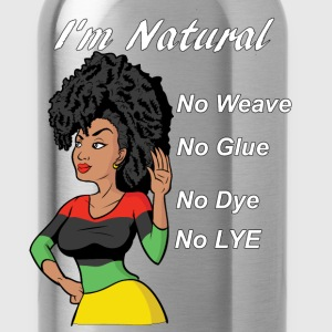 Natural Hair - Water Bottle