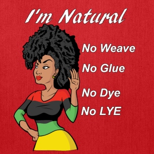 Natural Hair - Tote Bag