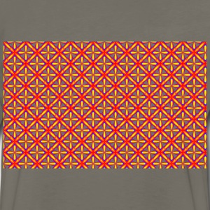 Seamless Groovy Geometry Pattern 4 - Men's Premium Long Sleeve T-Shirt