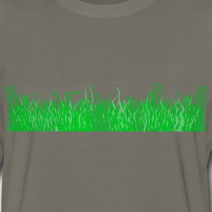 Grass for a lawn - Men's Premium Long Sleeve T-Shirt