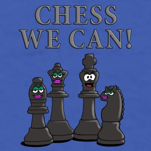 chess_we_can_12_2016_b Mugs & Drinkware - Men's T-Shirt