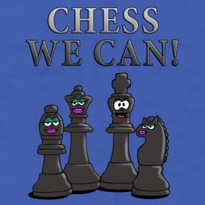 chess_we_can_12_2016_a Mugs & Drinkware - Men's T-Shirt