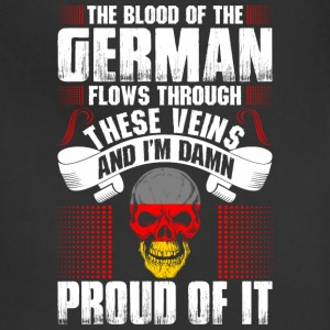 The Blood Of The German Proud Of It T-Shirts - Adjustable Apron