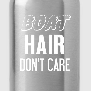 Sailing - Boat. Hair. Don't care! - Water Bottle