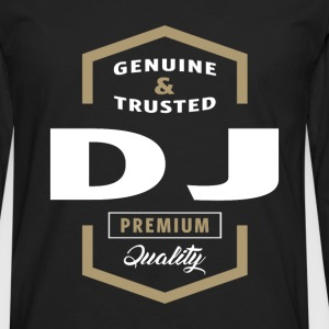 Genuine DJ T-shirt Gift - Men's Premium Long Sleeve T-Shirt