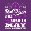 Real Women Are Born In May T-Shirts - Women's Premium T-Shirt
