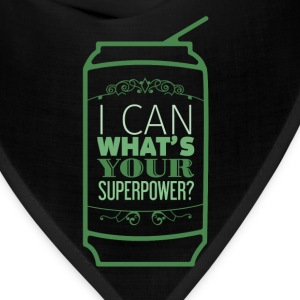 Motivation - I can what's your superpower? - Bandana