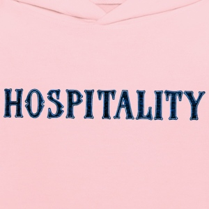 Noble characteristic typography hospitality - Kids' Hoodie