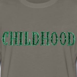Noble characteristic typography childhood - Men's Premium Long Sleeve T-Shirt