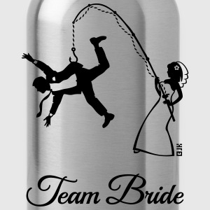 Team Bride Husband Fishing (Hen Party 1C) T-Shirts - Water Bottle