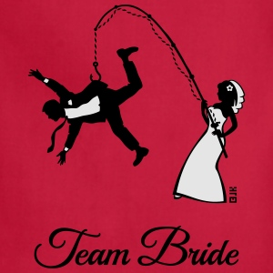 Team Bride Husband Fishing (Hen Party 2C) T-Shirts - Adjustable Apron