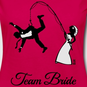 Team Bride Husband Fishing (Hen Party 2C) T-Shirts - Women's Premium Long Sleeve T-Shirt