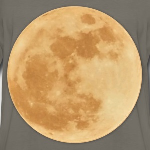Supermoon November 2016, traced. - Men's Premium Long Sleeve T-Shirt