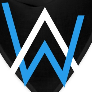 alan walker white blue - Bandana