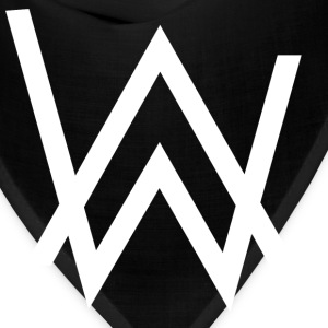 alan walker white - Bandana