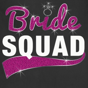 Bride Squad Bridesmaid T-Shirt - Adjustable Apron