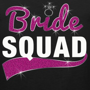Bride Squad Bridesmaid T-Shirt - Men's Premium Tank