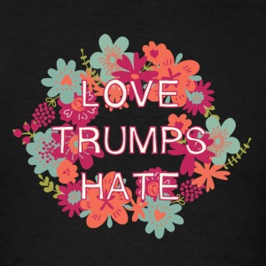 Love Trumps Hate Long Sleeve Shirts - Men's T-Shirt