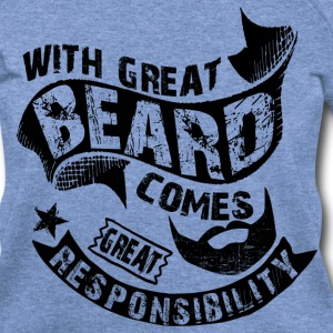 Bearded Man Quotes T-Shirts - Women's Wideneck Sweatshirt