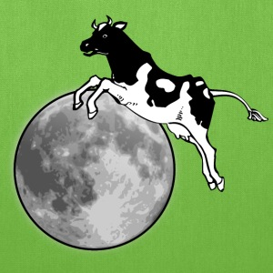 The cow jumps over the moon - Tote Bag