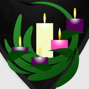Advent Wreath Christmas Eve - Bandana