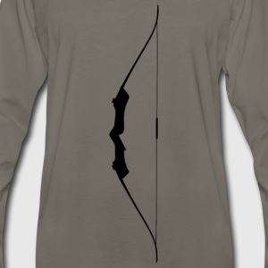 Bow Silhouette - Men's Premium Long Sleeve T-Shirt