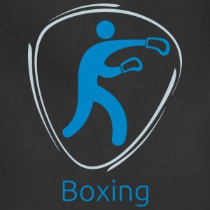 Boxing_blue - Adjustable Apron