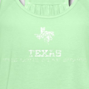 Texas Shape and Nickname - Women's Flowy Tank Top by Bella