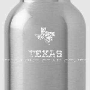 Texas Shape and Nickname - Water Bottle