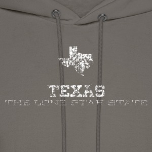 Texas Shape and Nickname - Men's Hoodie