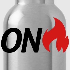 on fire T-Shirts - Water Bottle