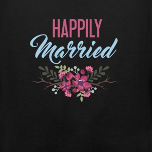 Married - Happily Married - Men's Premium Tank