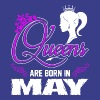 Queens Are Born In May T-Shirts - Women's Premium T-Shirt