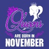 Queens Are Born In November T-Shirts - Women's Premium T-Shirt