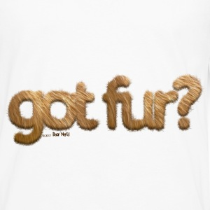 got fur?-Furry Fun-Gay Bear Pride-Grizzly Bear - Men's Premium Long Sleeve T-Shirt