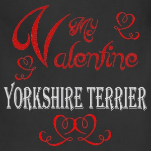 A romantic Valentine with my Yorkshire Terrier - Adjustable Apron