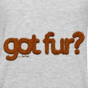 got fur?-Furry Fun-Gay Bear Pride-Kodiak Bear - Men's Premium Long Sleeve T-Shirt