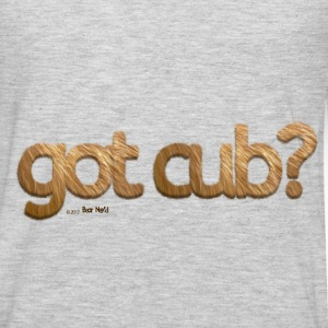 'got cub?' - Fuzzy Fun for Gay Bear Cubs - Grizzly - Men's Premium Long Sleeve T-Shirt