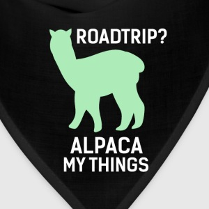 Alpacas - Road trip? Alpaca my things - Bandana