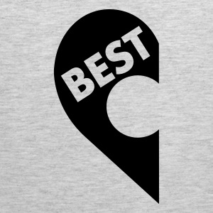 Best  (besties) T-Shirts - Men's Premium Tank