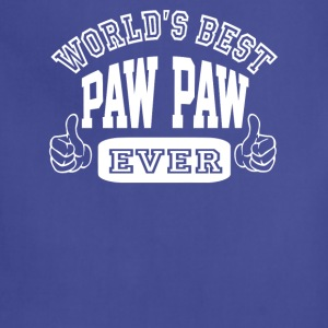 World's Best Paw Paw Ever - Adjustable Apron
