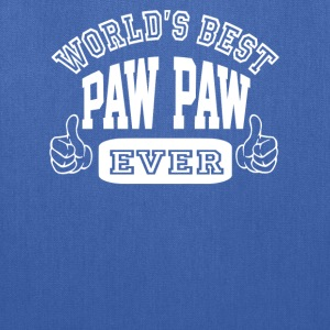 World's Best Paw Paw Ever - Tote Bag