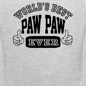 World's Best Paw Paw Ever - Men's Premium Tank