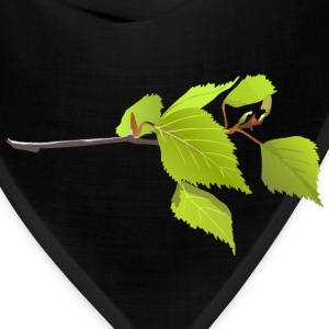 Branch And Green Leaves - Bandana